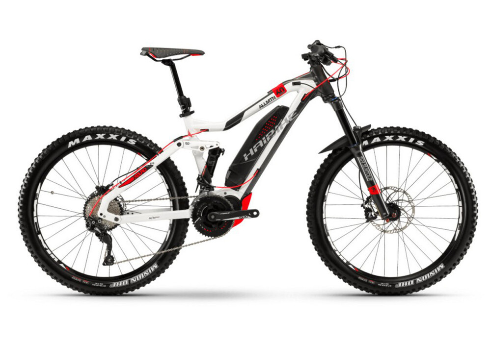 haibike xduro allmtn 6 0 e mtb fully grey white at. Black Bedroom Furniture Sets. Home Design Ideas