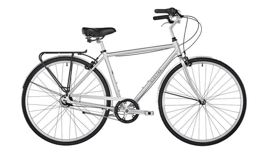 2 wahl electra loft 7i men brushed aluminum online for Fahrrad minimalistisch