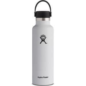 Hydro Flask Standard Mouth Flex Bottle 621ml vit vit