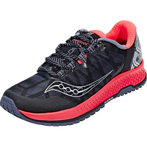 saucony Koa TR Schuhe Damen grey/vizipro red grey/vizipro red