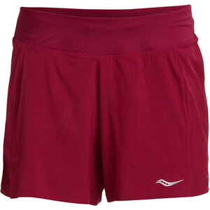 """saucony Tranquil 5"""" Shorts Damen beet red beet red"""