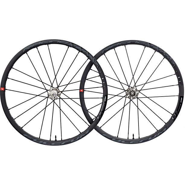 "Fulcrum Racing Zero DB Laufradsatz Road 28"" 2-speed Fit XD 6-Hole USB schwarz/weiß"