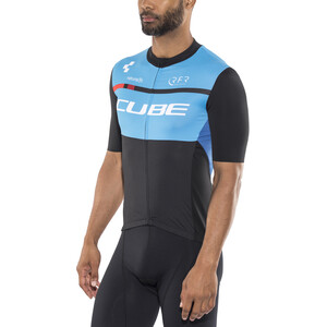 Cube Teamline Trikot Kurzarm Herren black'n'blue'n'white black'n'blue'n'white