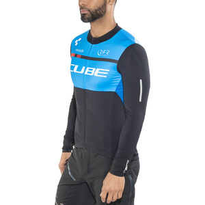 Cube Teamline Trikot langarm Herren black'n'blue'n'white black'n'blue'n'white