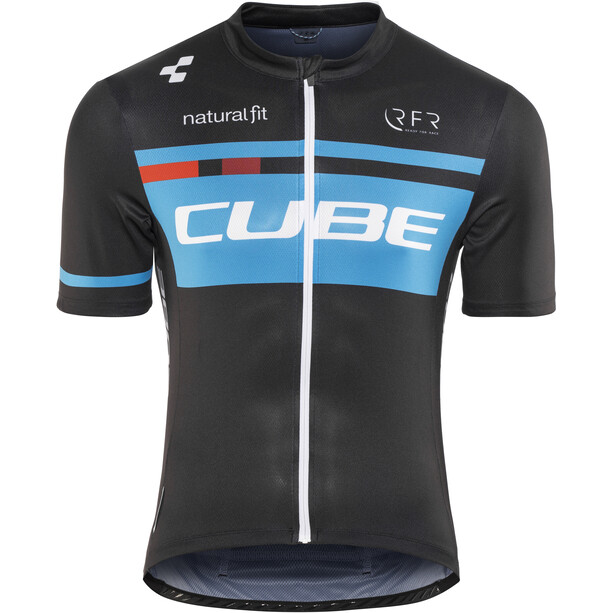 Cube Teamline Competition Trikot Kurzarm Herren black'n'blue
