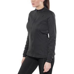 SQUARE Performance Trikot langarm Damen black black