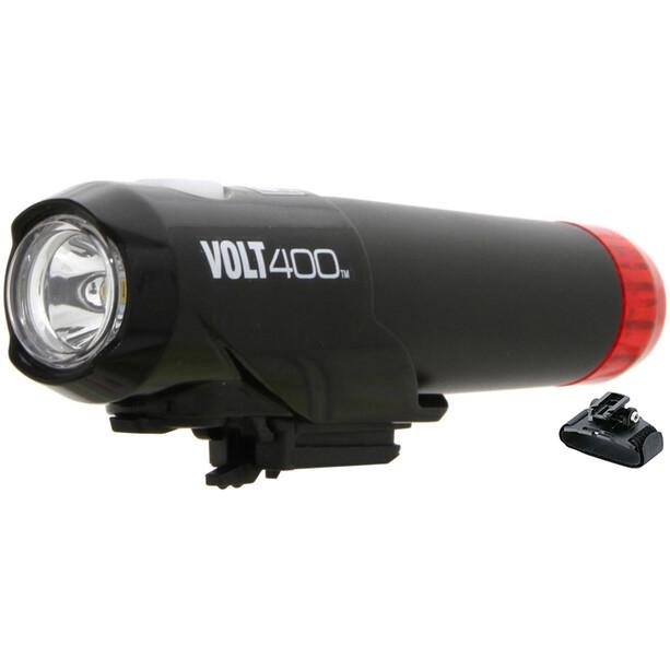 CatEye HL-EL462RC-H Lampe de casque Volt 400 Duplex, noir