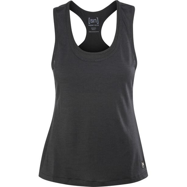super.natural Active Top Damen jet black