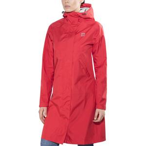 66° North Heidmork Mantel Damen red red