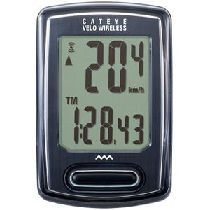 CatEye Velo Wireless CC-VT230W Compteur de vélo, noir noir