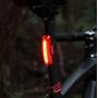 CatEye TL-LD710GK Rapid X2G Kinetic Feu arrière LED fonction de feu de stop, rouge
