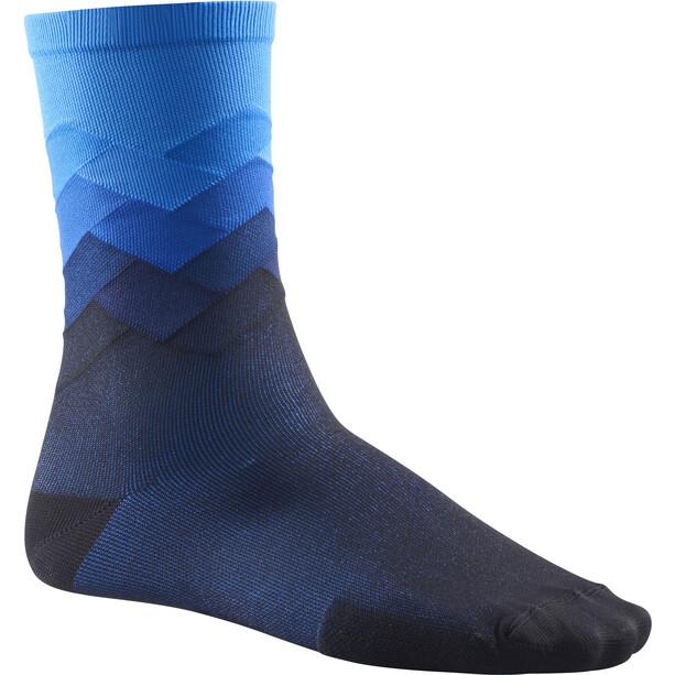 Mavic Cosmic Graphic Socken dresden blue
