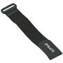 Lupine Velcrobånd ekstra lang, sort