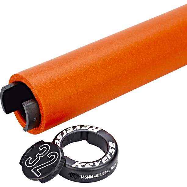 Reverse Seismic Ergo Grips 145mm orange/black