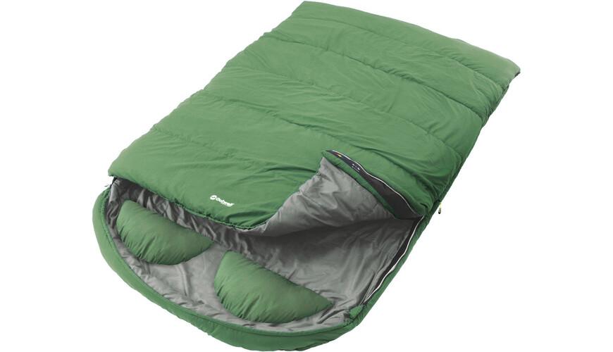 outwell coram lux double sac de couchage vert sur. Black Bedroom Furniture Sets. Home Design Ideas