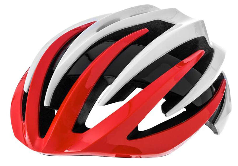 orbea r 50 casco de bicicleta rojo blanco. Black Bedroom Furniture Sets. Home Design Ideas