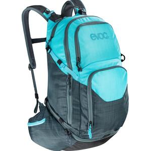 EVOC Explr Pro Technical Performance Pack 30l ヘザー グレー-ヘザー ネオン ブルー