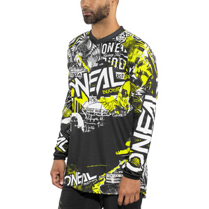 O'Neal Element Jersey Herr attack (black/hi-viz) attack (black/hi-viz)