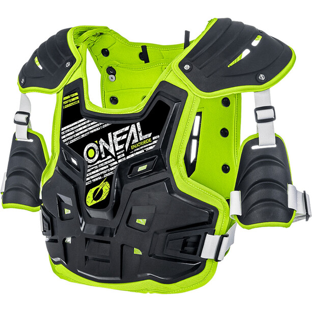 O'Neal PXR Stone Shield Chest Protector Herr black/yellow