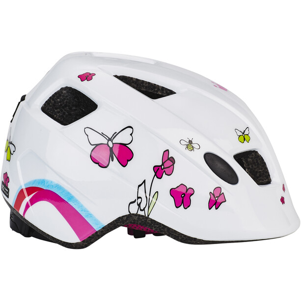 Cube Pebble Helm Kinder white cubie