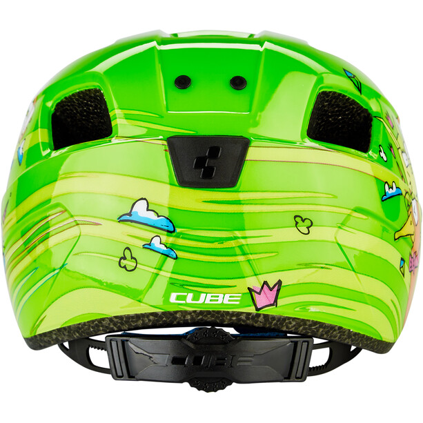 Cube Pebble Helmet Barn green friends