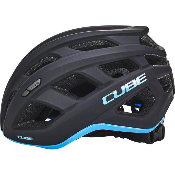 Cube Roadrace Helm schwarz/blau