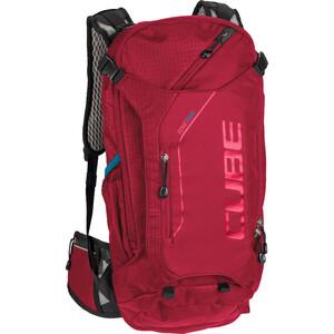 Cube Edge Trail Mochila 16l, rojo rojo