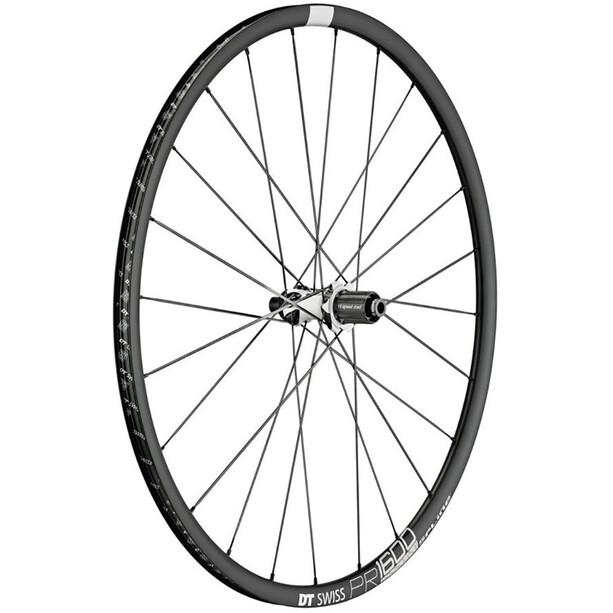 DT Swiss PR 1600 Spline DB 23 Rear Wheel Alu Center Lock 142/12mm TA black