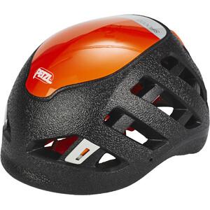 Petzl Sirocco Kletterhelm schwarz/orange schwarz/orange