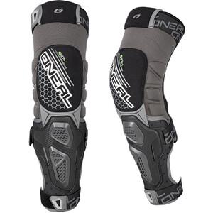 O'Neal Sinner Hybrid Protectores de rodilla, gris/negro gris/negro