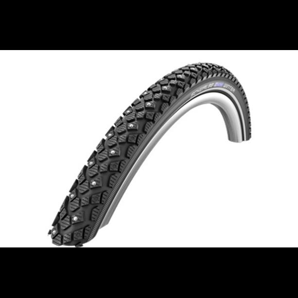 "SCHWALBE Winter Clincher Tyre 16"" Active Line KevlerGuard Svart"