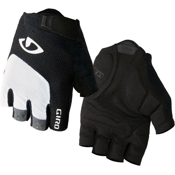 Giro Bravo Gel Handschuhe white/black
