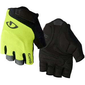 Giro Bravo Gel Handschuhe highlight yellow highlight yellow