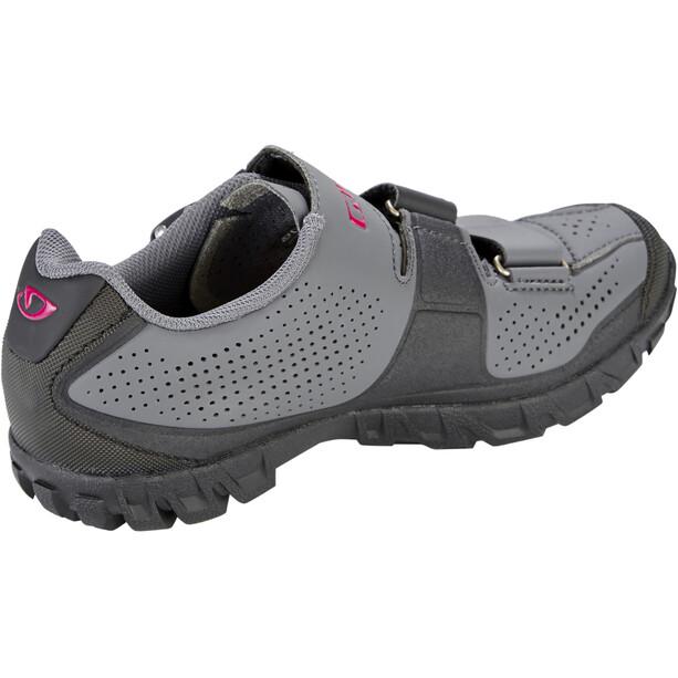 Giro Terradura Schuhe Damen dark shadow/berry