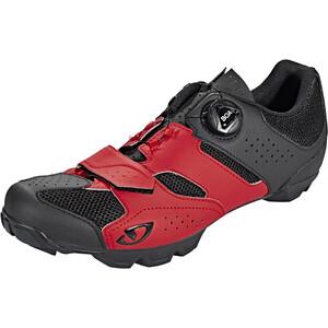 Giro Cylinder Shoes Herr dark red/black dark red/black