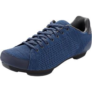 Giro Republic R Knit Shoes Men ミッドナイト/ブルー ヘザー