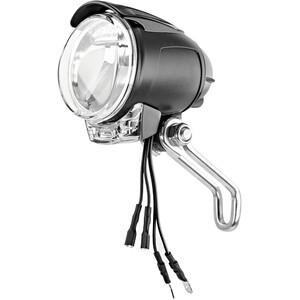 Busch + Müller Lumotec IQ Cyo T Éclairage avant 6,5-75V, noir/transparent noir/transparent