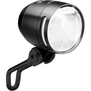 Busch + Müller Lumotec IQ-XS DC Frambelysning svart/transparent svart/transparent