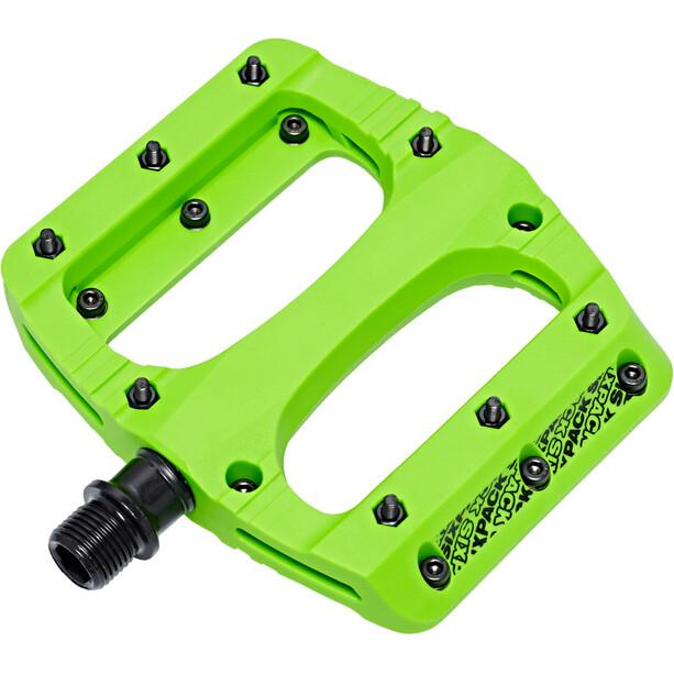 Sixpack Vegas Pedale neon-green