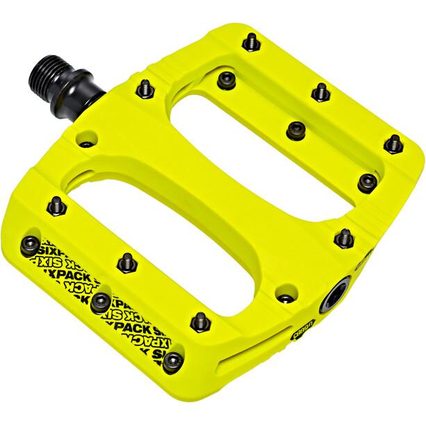 Sixpack Vegas Pedale neon-yellow