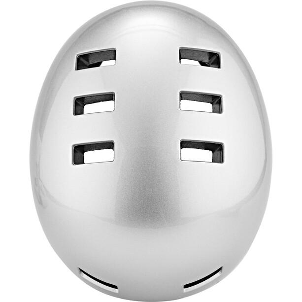 bluegrass Super Bold Dirt-Helm metallic silver