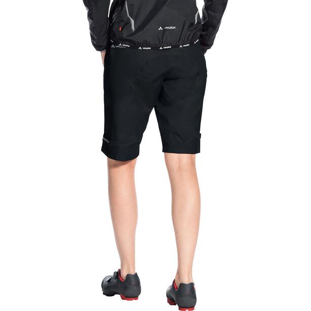 VAUDE Drop Shorts Damen schwarz