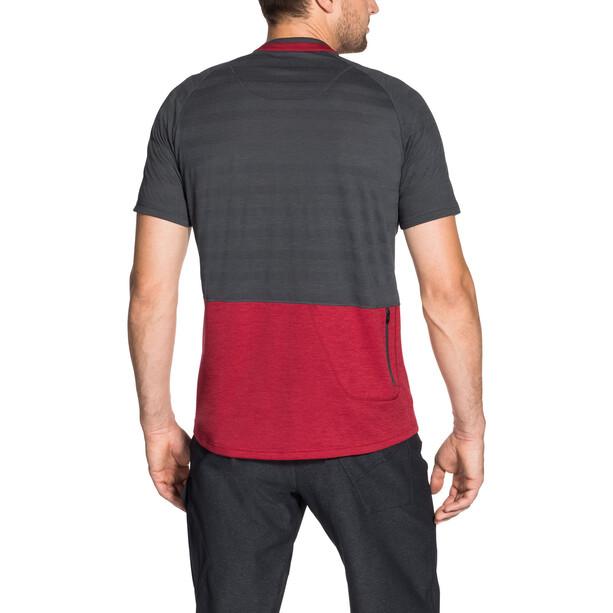 VAUDE Tamaro III Shirt Herren dark indian red