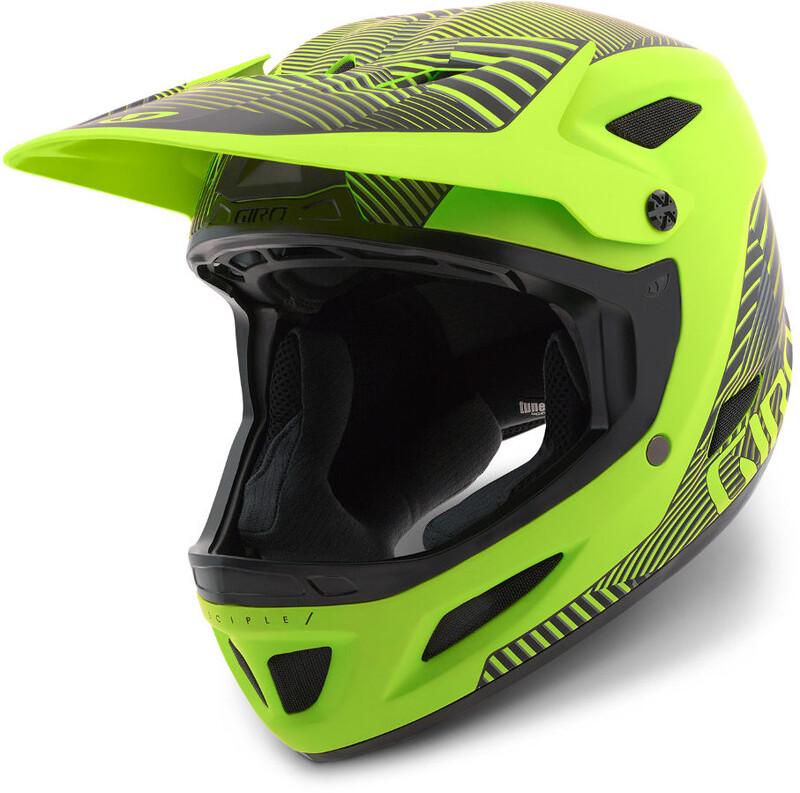 Giro Disciple MIPS Helmet Matte Lime Dazzle S | 54-56cm 2018 Fahrradhelme