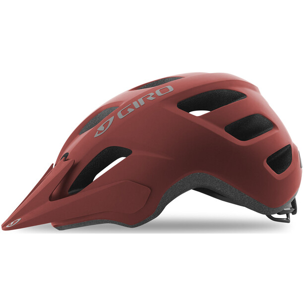 Giro Fixture Helm matte dark red
