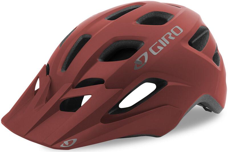 Giro Fixture Sykkelhjelmer rød U / 54-61cm 2019 MTB-hjelmer
