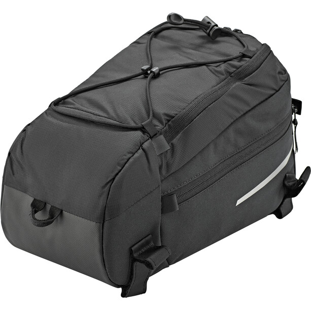VAUDE Silkroad Gepäckträgertasche M black