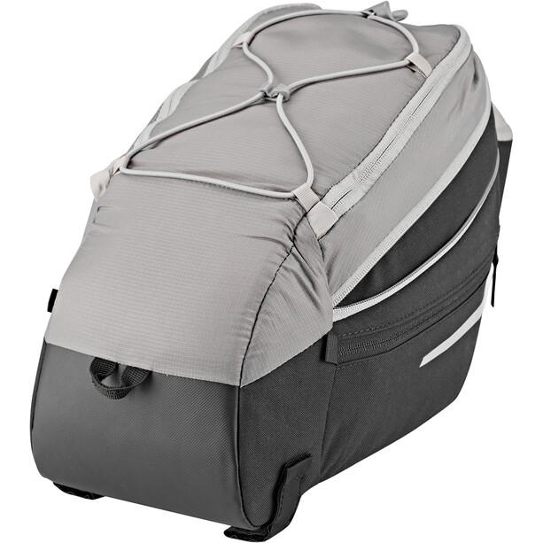 VAUDE Silkroad Gepäckträgertasche L schwarz/grau