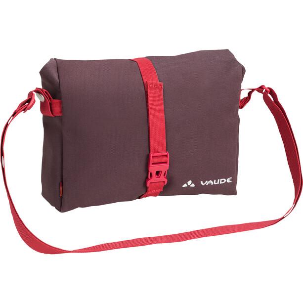 VAUDE ShopAir Box Handlebar Bag raisin