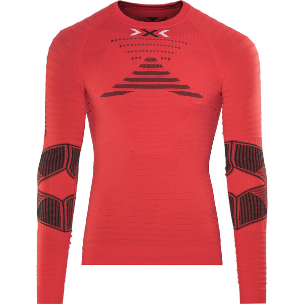 X-Bionic Effektor Power Running Shirt LS Herr flash red/black